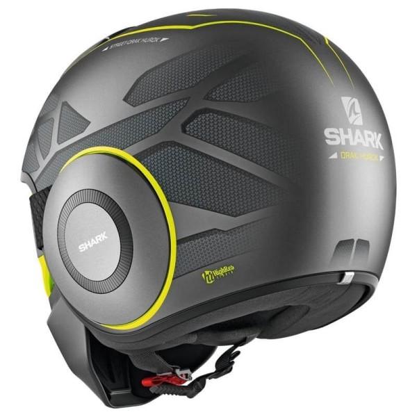 Shark helmet Street Drak Hurok Mat black yellow