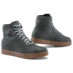 Zapatos moto TCX Street Ace WP grey natural rubber, Zapatos Motos Urban
