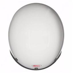 Motorcycle Helmet Vintage BELL HELMETS Custom 500 White ,Jet Helmets