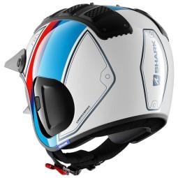 Shark helm X-Drak 2 Terrence white blue red ,Jet Helme