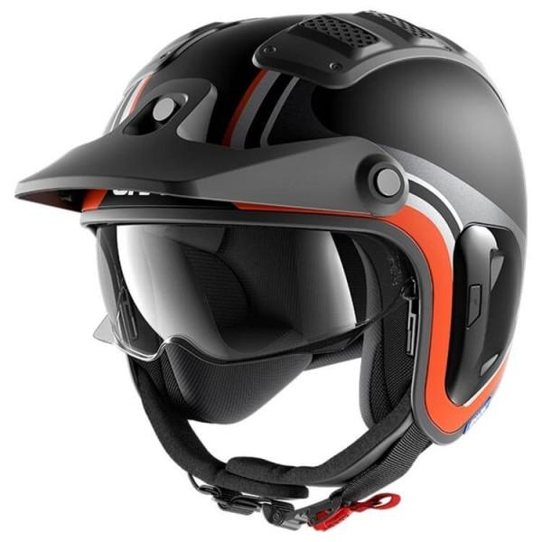 Casco de moto Shark X-Drak 2 Hister black orange