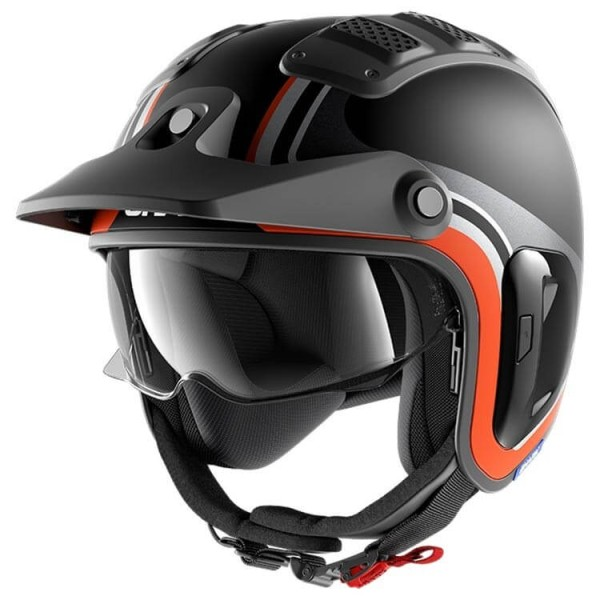 Shark helmet X-Drak 2 Hister black orange
