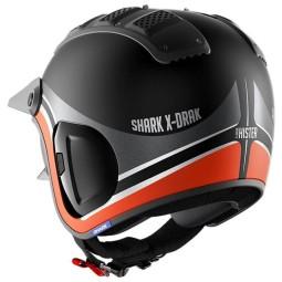 Shark helmet X-Drak 2 Hister black orange ,Jet Helmets