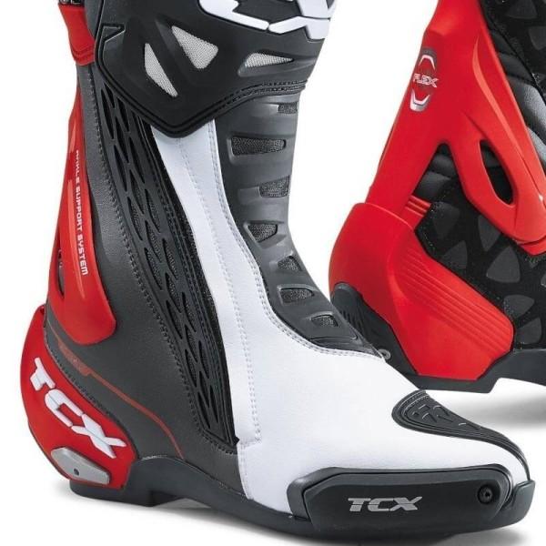 Motorradstiefel TCX RT-Race Black White Red