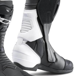 Motorcycle Boots TCX ST-Fighter black white
