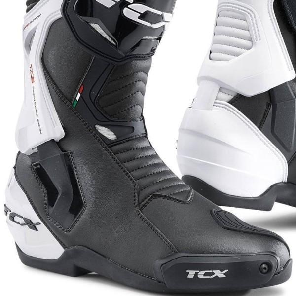 Botas Moto TCX ST-Fighter negro blanco