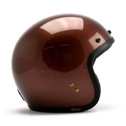 Roeg Moto JETTson helmet vintage Dark Roast, Jet Helmets