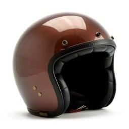 Roeg Moto JETTson helmet vintage Dark Roast ,Jet Helmets