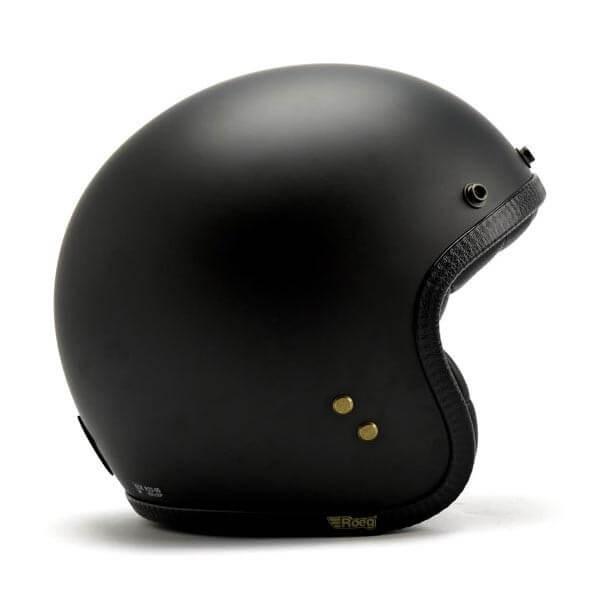 Roeg Moto JETTson helmet vintage matte black