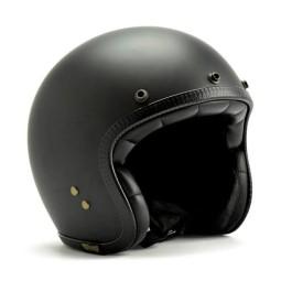 Motorrad jet helm Roeg Moto JETTson schwarz matt ,Jet Helme
