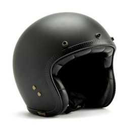 Roeg Moto JETTson helmet vintage matte black, Jet Helmets