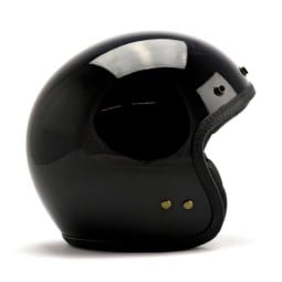 Motorrad jet helm Roeg Moto JETTson schwarz gloss
