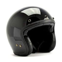 Roeg Moto JETTson helmet vintage gloss black, Jet Helmets