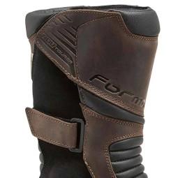 Motorradstiefel Forma Boots ADV Tourer braun, Motorrad Touring Stiefel