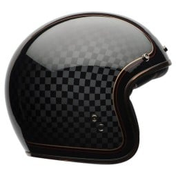 Motorrad Helm Vintage BELL HELMETS Custom 500 RSD Checkit ,Jet Helme