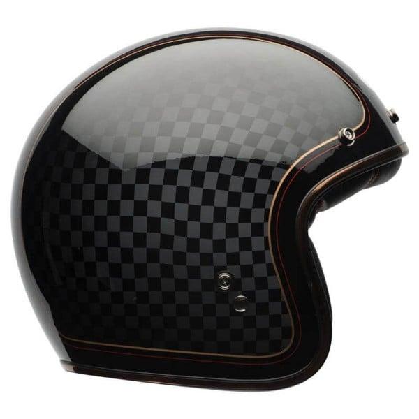 Motorrad Helm Vintage BELL HELMETS Custom 500 RSD Checkit