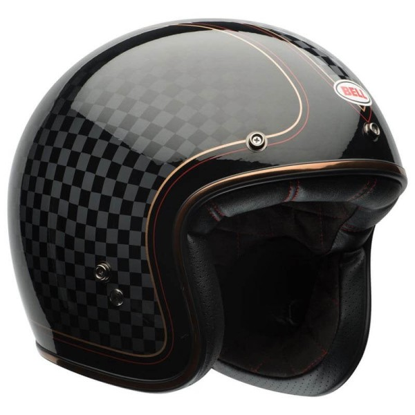 Motorcycle Helmet Vintage BELL HELMETS Custom 500 RSD Checkit