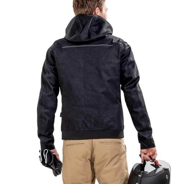 Motorcycle jacket Rev it Hoody Stealth 2 black