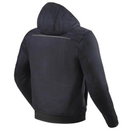 Motorcycle jacket Rev it Hoody Stealth 2 blue ,Motorcycle Textile Jackets