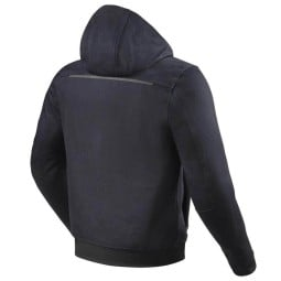 Motorrad soft Rev it Hoody Stealth 2 blau