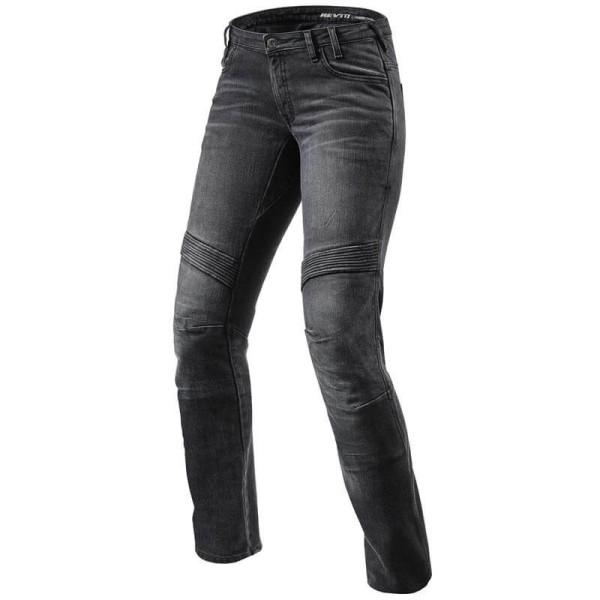 Jeans Rev it Moto TF femme noir