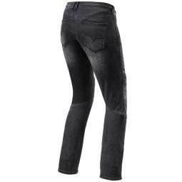 Jeans moto Rev it Moto TF donna nero, Jeans Moto