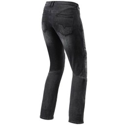 Motorrad Jeans Rev it Moto TF frau schwarz