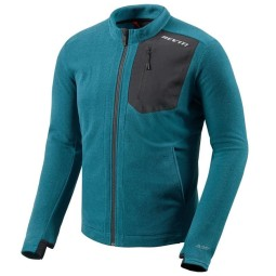 Veste moto thermique Rev it Halo bleu