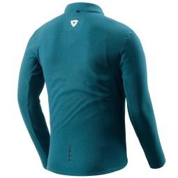 Thermal motorcycle jacket Rev it Halo blue, Functional motorcycle gear