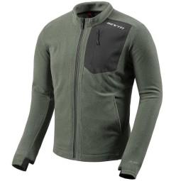 Thermal motorcycle jacket Rev it Halo dark green, Functional motorcycle gear