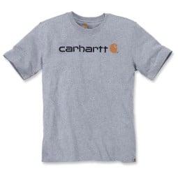 T-shirt Carhartt Core Logo grigio, T-Shirts