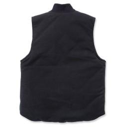 Carhartt Duck Arctic Quilt Lined Weste schwarz ,Motorrad Textiljacken