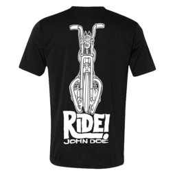 T-shirt John Doe Ride black ,T-Shirts