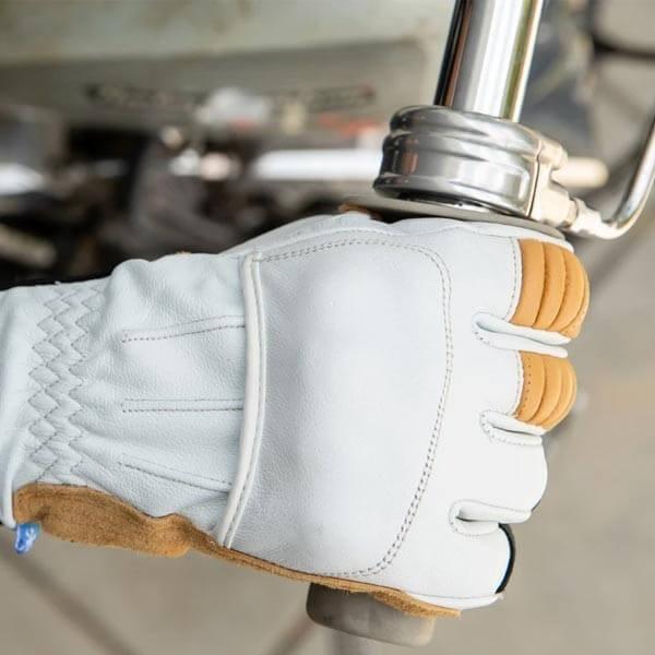 Guantes moto Biltwell Belden Cement