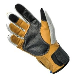 Motorcycle gloves Biltwell Belden Cement ,Motorcycle Leather Gloves