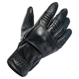 Motorcycle gloves Biltwell Belden brown black ,Motorcycle Leather Gloves