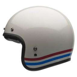 Casco Moto Vintage BELL HELMETS Custom 500 Stripes