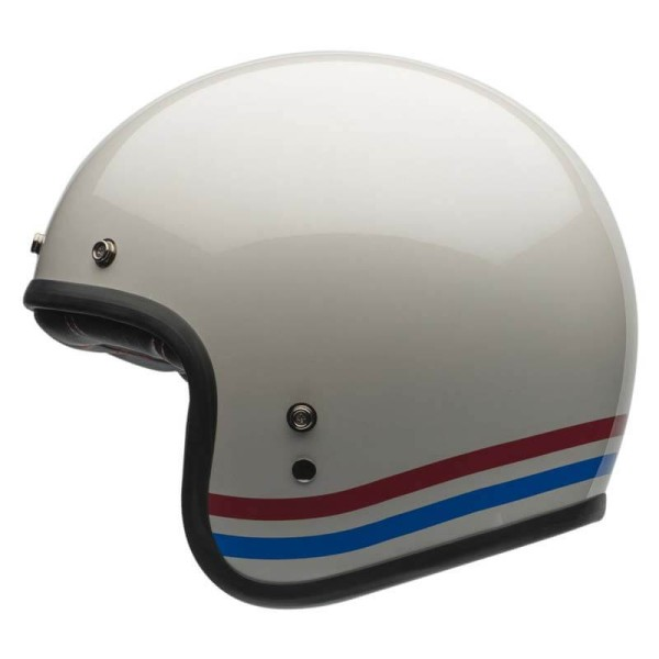 Casque Moto Vintage BELL HELMETS Custom 500 Stripes