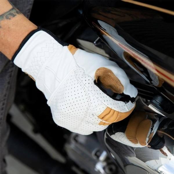 Motorradhandschuhe Biltwell Borrego Cement