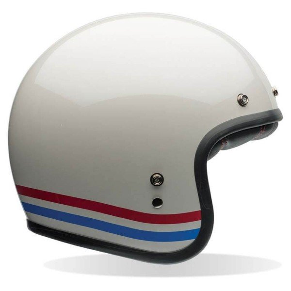 Motorcycle Helmet Vintage BELL HELMETS Custom 500 Stripes