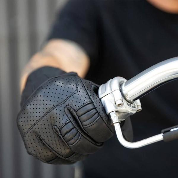 Gants moto Biltwell Borrego noir