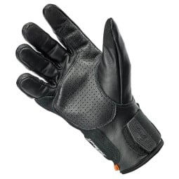 Motorcycle gloves Biltwell Borrego black, Motorcycle Leather Gloves