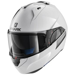 Casco moto modular EVO-ONE 2 Blank white