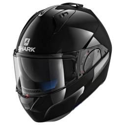 Casco moto modular EVO-ONE 2 Blank black