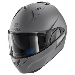 Casco modulare Shark EVO-ONE 2 Blank Mat Anthracite