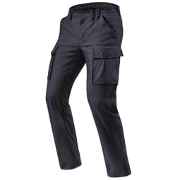 Motorcycle pants Rev it Cargo SF black, Motorcycle trousers