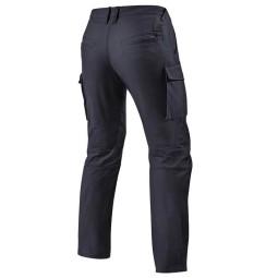 Pantalones moto Rev it Cargo SF negro, Pantalones moto