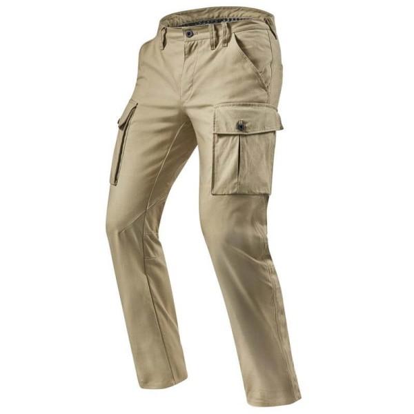 Pantalon moto Rev it Cargo SF sable