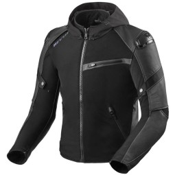 Motorcycle jacket Rev it Target H2O, Motorcycle leather jackets