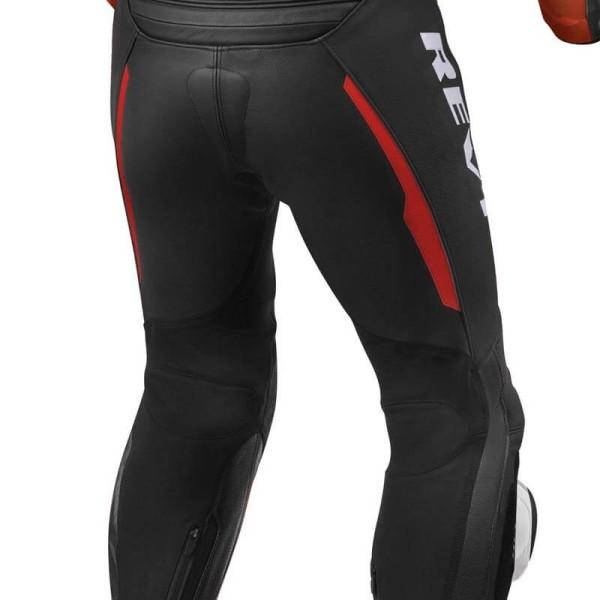 Combinaison moto Rev it Hyperspeed noir rouge